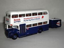 EFE AEC RMA ROUTEMASTER & TRAILER BRITISH AIRWAYS 1/76 36203