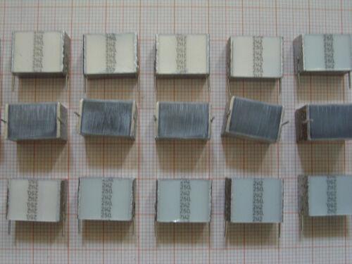100x 2,2µF 250V R15 MKT Folienkondensator 2,2uF 2u2 B32562 Epcos bleifrei