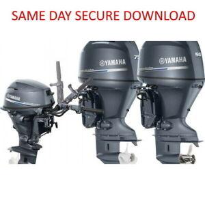 2003-2010 Yamaha F15B Outboard Motor Service Manual  FAST ACCESS