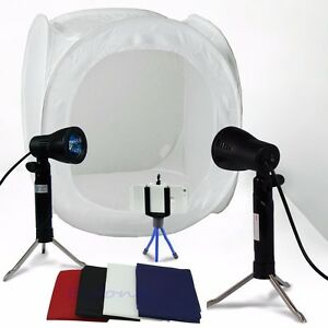 24-034-Photo-Studio-Photography-Light-Tent-Backdrop-Kit-Lighting-in-a-Box-60cm-Cube