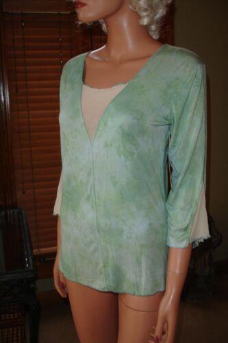 Bleu Clair Claire Pettibone Impression Top Shirt-A