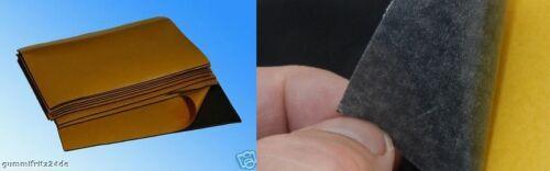 29,83 €//m² Moosgummi  Zellkautschuk Zellgummi  200 x 300 x 3 mm selbstklebend
