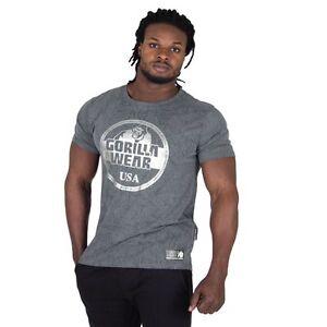 GORILLA-WEAR-Rocklin-Camiseta-gris