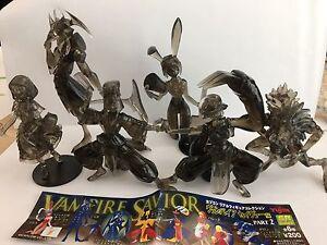Rare Japan Yujin Vampire Savior Gashapon Figure Part 2 MORGAN