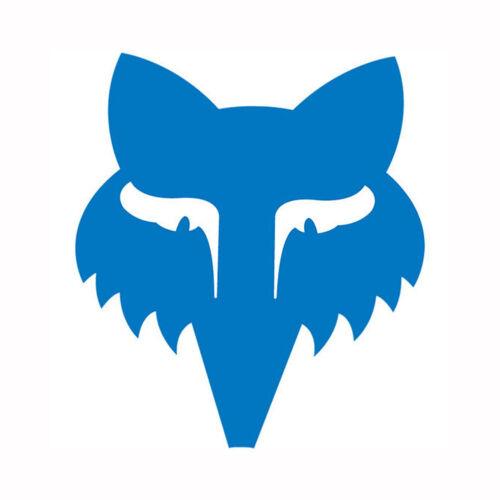 Fox Racing Legacy Head 3.5 Inch Sticker Blue