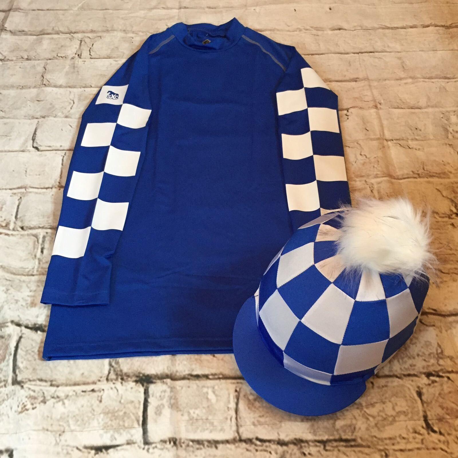 SXC ECO cross country Coloreeee XC controllo CONCORSO COMPLETO Equitazione Cappello seta Cover personalizzata