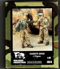 VERLINDEN 1014 - CIGARETTE BREAK (2 Figures) - 1/35 RESIN KIT NUOVO