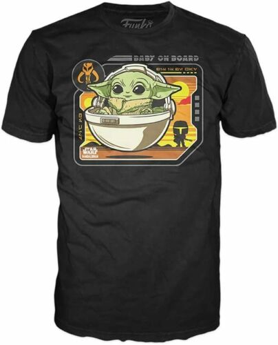 Black Star Wars The Child Baby on Board T-Shirt
