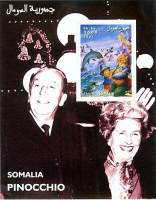 Disney & Pinocchio Francobollo Souvenir Foglio 19b-025 Cheap Sales Animation, Cartoons