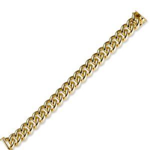 14mm-Armband-Armkette-Rund-Panzerarmband-aus-585-Gold-Gelbgold-massiv-19cm