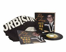 """Roy Orbison Threads + Grooves Pretty Woman Crying 7"""" Single Vinyl T-Shirt - NEW"""