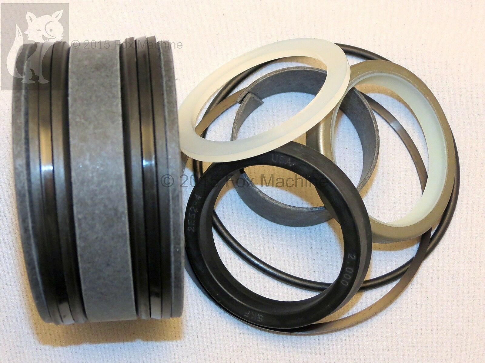 Seal Kit pair for Case Steering Cylinders fits 530CK 580CK /& 580B to s//n 8741258