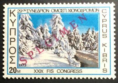 Nr 387 Specimen Aufdruck FäHig Zypern Postfrisch Mi