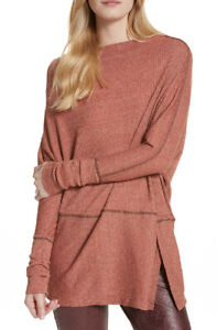 Free-PEOPLE-Damen-London-Town-ob658525-TOP-Acorn-braun-Groesse-XS