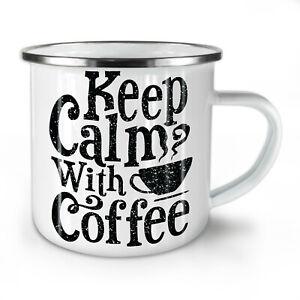 Keep Calm NEW Enamel Tea Mug 10 oz   Wellcoda
