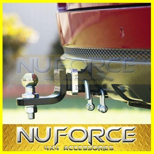 Mitsubishi Pajero NS/NT/NW (2000-2015) Heavy Duty Towbar / Tow Bar