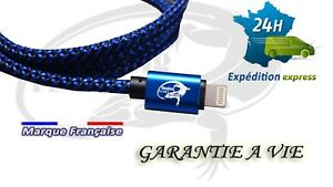 Cable-cordon-Iphone-5-6-7-8-fil-chargeur-cable-usb-garantie-a-vie-robuste-file