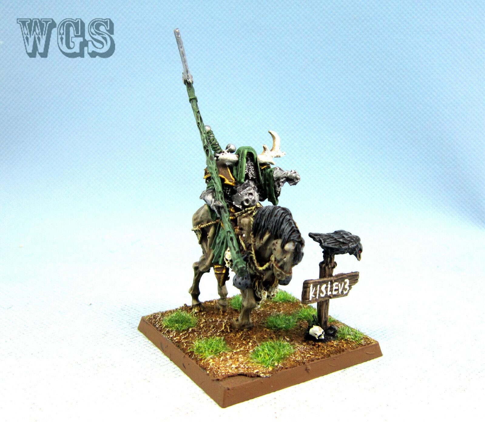25mm Warhammer Fantasi WGS Målad Nürkkaos Lord på Daemonic Mount WC039