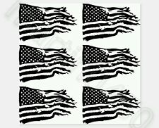 "12""×12"" tattered American flag vinyl stencil duracoat, gun-kote,cerakote avery"