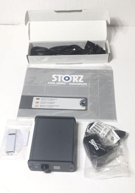 Endoscopy Unit: Karl Storz 20290320 C-hub II CMOS Camera Control Endoscopy