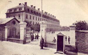 CPA-50-Env-Agneaux-Torigni-SAINT-LO-Caserne-BELLEVUE-1908-Lycee-Rue-de-l-039-Exode