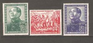 GERMANY-GDR-Sc-82-to-84-Mao-mint-nh-VF