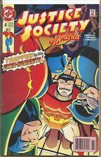 Justice Society of America 1992 series # 4 UPC code fine comic book