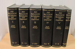 Die-Religion-in-Geschichte-und-Gegenwart-2-Auflage-Band-1-5-Register-1927