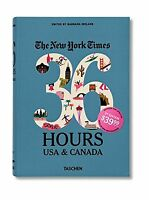 The York Times: 36 Hours Usa & Canada 2nd Edition Free Shipping