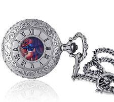 Catorex Men's Erotic 1/H Swiss Automatic Brass Pocket Watch