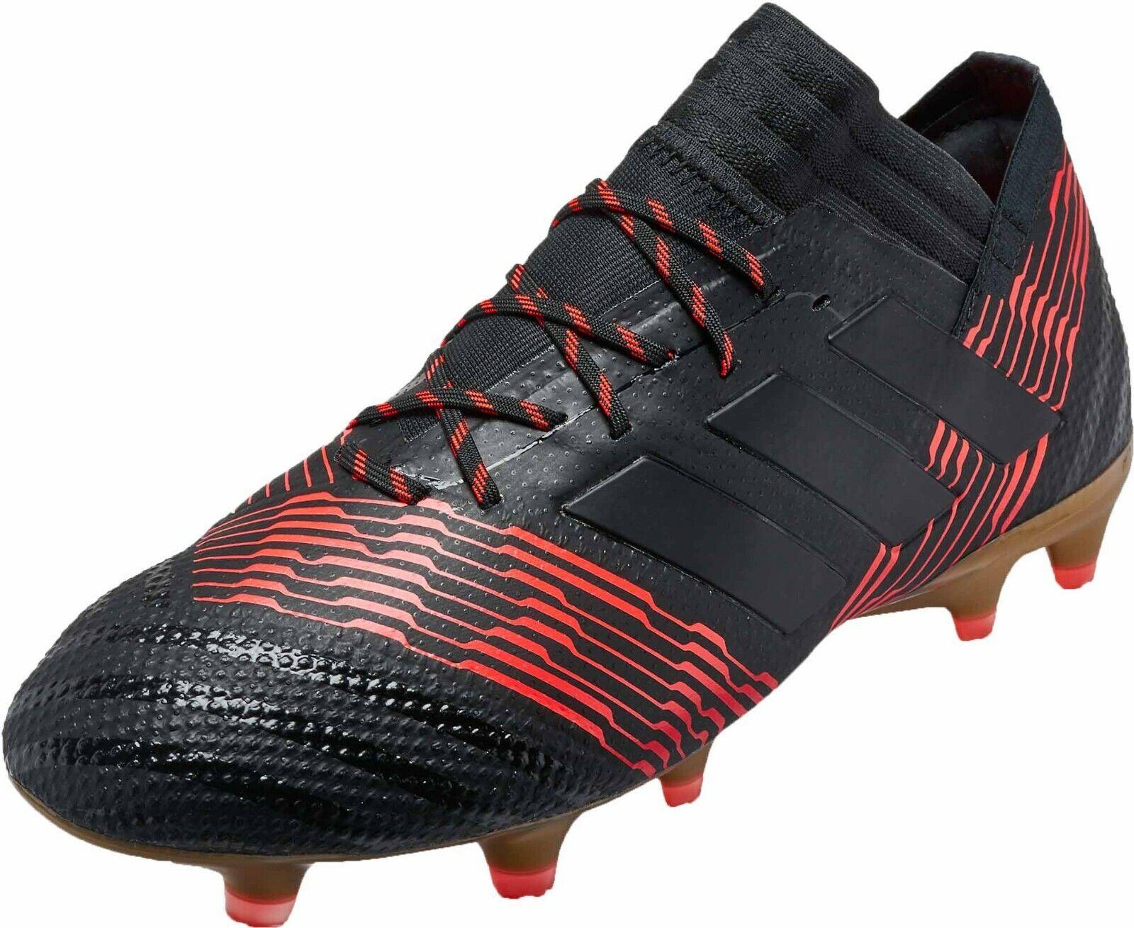 Adidas NEMEZIZ 17.1 FG Fußballschuhe Nocken CP8932 UK-10,5 EUR-45 1 3 schwarz