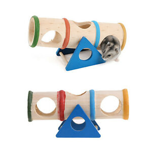 Wooden-Colorful-Seesaw-Cage-House-Hide-Play-Pet-Toys-For-Hamster-Rat-Mouse-Mice