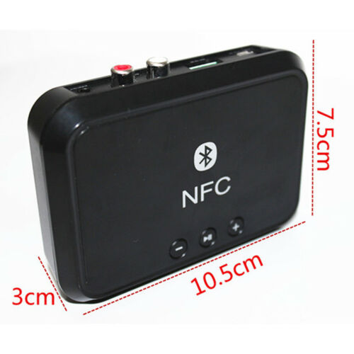 Wireless Bluetooth 4.1 RCA,3.5mm Speaker NFC Stereo Audio,Music Receiver Adapter