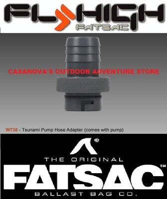 "FATSAC 3//4/"" Male Quick Connect 1-1//8/"" Barbed Tsunami Pump Threads w//O"