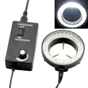 60LED-6W-Round-Adjustable-Ring-Light-Illuminator-Lamp-for-Stereo-Zoom-Microscope