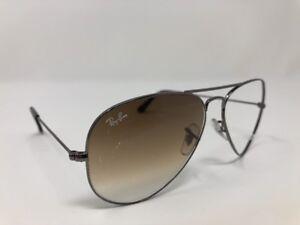 9df7742fbbd Ray Ban Aviator RB3025 004 51 Gunmetal 58 14 Sunglasses Frames Only ...