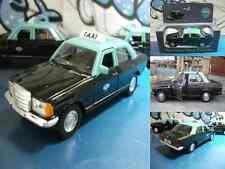 coche car voiture táxi do Porto (Portugal) Mercedes-Benz 230E 1985  Welly 1:38