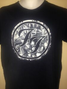 FOO-FIGHTERS-FF-SONIC-HIGHWAYS-2014-OFFICIAL-MEDIUM-T-SHIRT-DAVE-GROHL-ROCK
