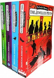 Sinclairs-Mysteries-4-Books-Young-Adult-Set-Paperback-Pack-By-Katherine-Woodfine