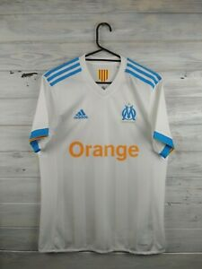 lowest price bffd8 b3e50 Olympique Marseille jersey S 2017 2018 home shirt BK5346 ...