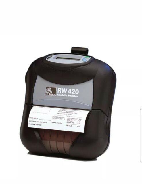 Zebra RW 420 Mobile Receipt Printer