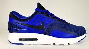 Details about 876070 001 Nike Mens Air Max Zero Essential BlackBlack Paramount Blue