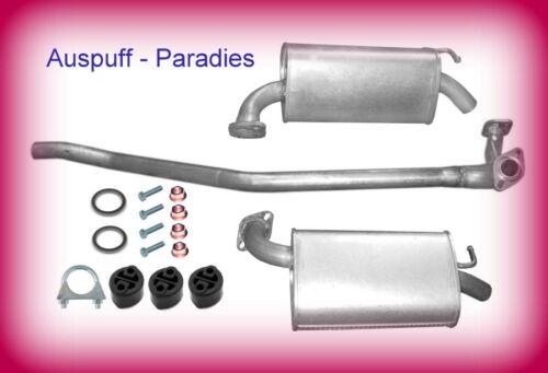 147PS Abgasanlage Auspuff Mazda 6  2.0 Typ GG /& GY Limo /& Kombi ab 03//2005+Kit