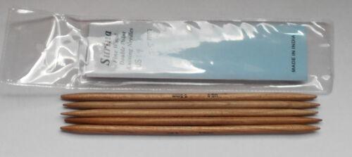 "New Surina 7/""  Wood DP Knitting Needles 4.25 mm"