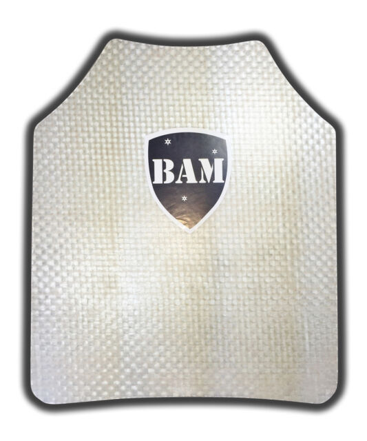 11x13 Shooter Cut Level IIIA Stand Alone Body Armor Plate Bullet Proof Insert
