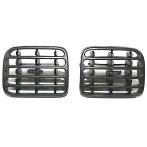 RENAULT-CLIO-AIR-VENTILATION-DASHBOARD-GRILL-LEFT-AND-RIGHT-BLACK-COLOUR-PAIR