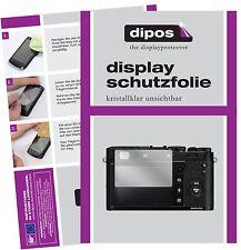 6x Fujifilm x100f Pellicola Protettiva Pellicola Protettiva Display Chiaro dipos Display Pellicola