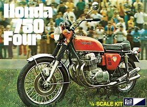 2015 827 Mpc Honda 750 Four Motorcycle 18 Model Kit New Retro