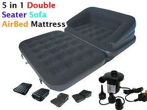 NEW-5-in-1-INFLATABLE-DOUBLE-SOFA-COUCH-LOUNGER-MATTRESS-AIRBED-W-ELECTRIC-PUMP