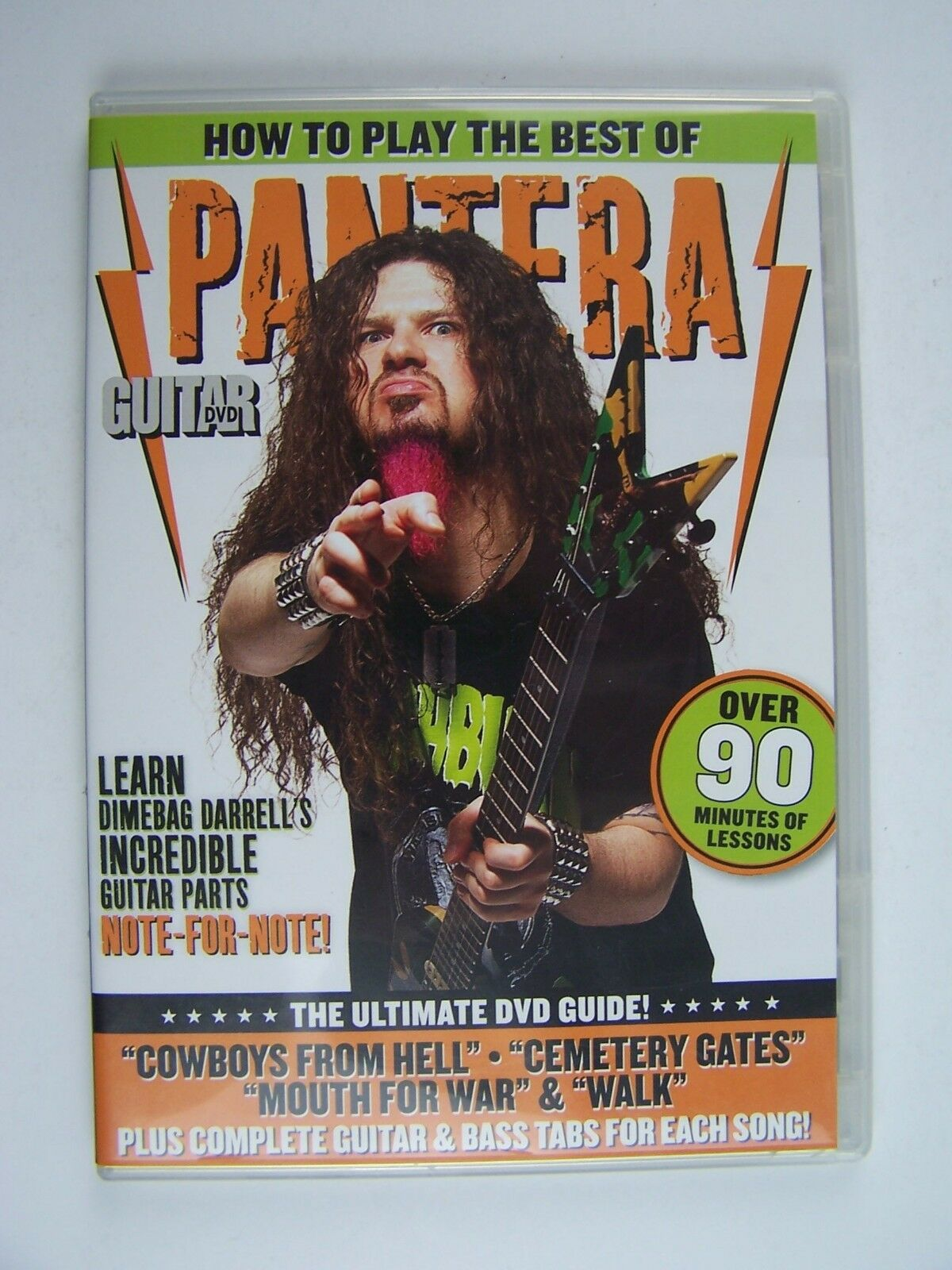 Guitar World: How to Play the Best of Pantera DVD Dimeb